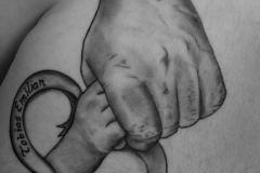 angelika gross tattoo Vater und Sohn