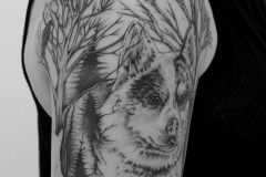angelika gross tattoo husky wald