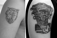 angelika gross tattoo cover up Gibson