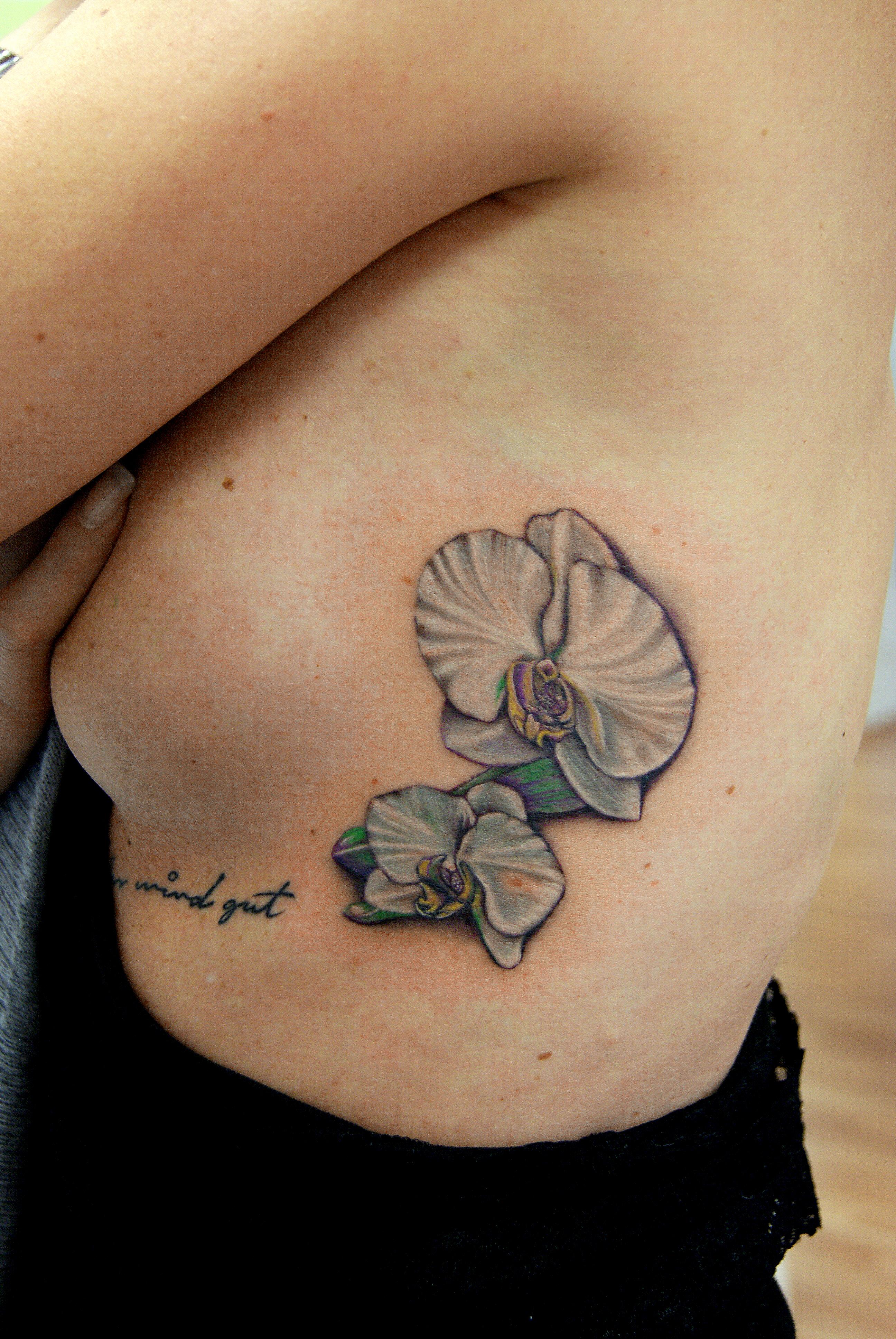 Erstaunlich Orchideen Tattoo Das Beste Von Angelika Gross Weiße
